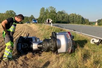 Schwerer Motorradunfall bei Neustadt