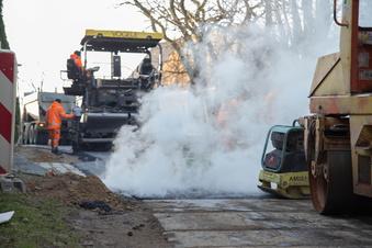 Kodersdorf setzt kaputte Straßen instand