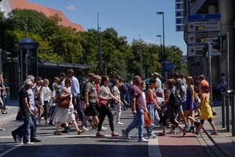 Läden dicht: Handelsfläche in Dresden schrumpft
