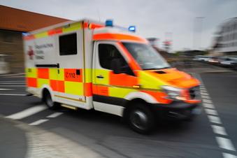 Schwerer Unfall in Olbernhau - sechs Verletzte