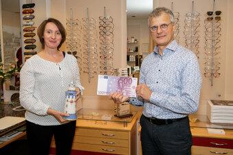 Bischofswerda: Optiker hilft Verein