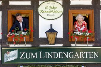Wettiner-Prinzessin besucht Jonsdorf