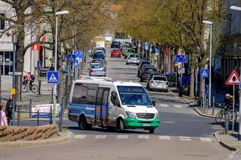 Mit dem Quartierbus quer durch Radebeul