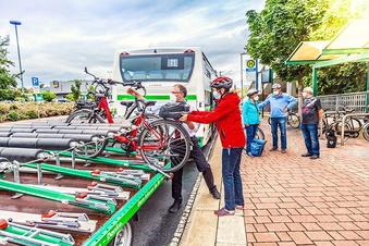 Fahrräder werden kostenlos mitgenommen
