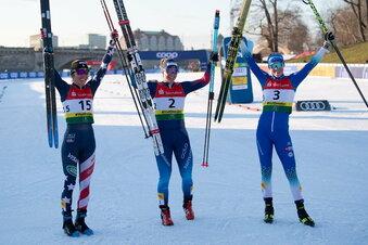 So begann der Ski-Weltcup in Dresden