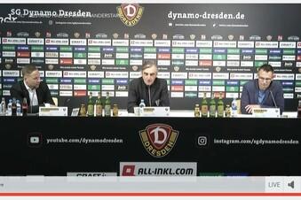 """Dynamo kämpferisch: """"Wir spielen die Saison zu Ende"""""""