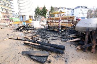 Döbeln: Brandanschlag auf Rechnungshof-Baustelle