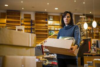 St.-Benno-Buchhandlung wird ausgeräumt
