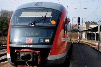 Wieder Zugverkehr von Döbeln bis Meißen