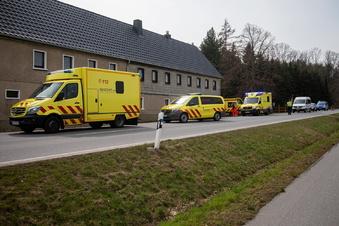 Riskant überholt - drei Verletzte