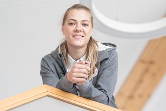 Die neue beim Dresdner SC ist eine politische Volleyballerin