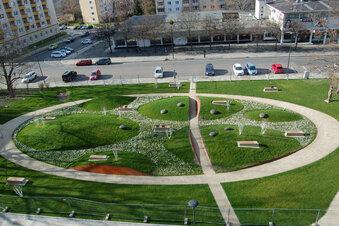 Umstrittener Dresdner Park ist fertig