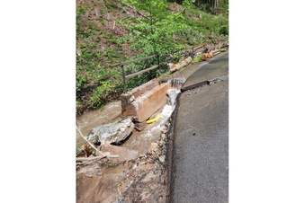 Wasserfallstraße in Lichtenhain gesperrt