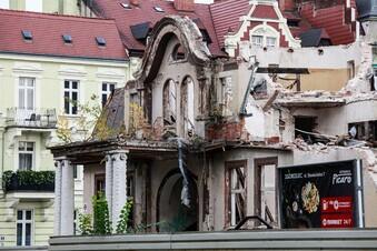 Historisches Offizierskasino wird abgerissen