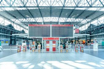 Sachsens Flughäfen sind Corona-Patienten