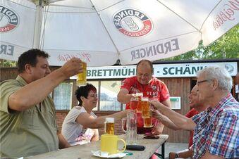 Bayern und Schwaben in Zschorna
