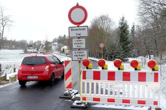 Staatsstraße bleibt bis Mai gesperrt