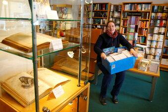 Frischekur in der Buchhandlung Sauermann