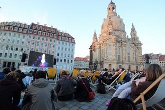 Filmfest Dresden startet an Frauenkirche