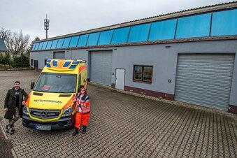 Mehr Platz für Rettungswache in Naußlitz
