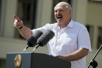 Belarus: Präsident mobilisiert Armee