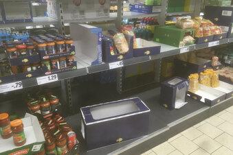 Corona-Konjunktur in den Supermärkten
