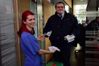 Dresdner Uniklinik lässt Mundschutz nähen