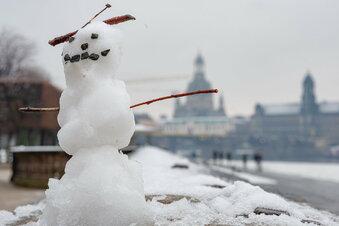 Endlich Winter in Sachsen