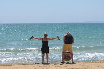 Mallorca empfängt deutsche Touristen mit Applaus