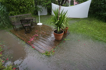 Hilfe bei überschwemmtem Gartenboden