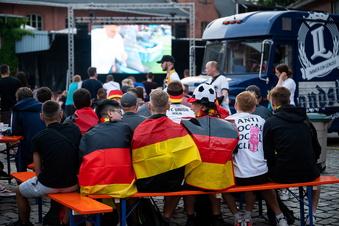 Hier sehen Görlitzer das Deutschland-Spiel