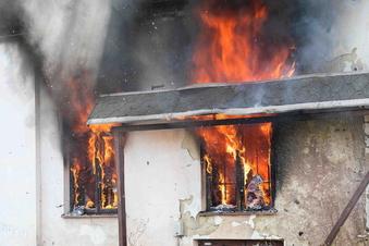 Geplante Feuerwehrübung wird plötzlich zum Ernstfall