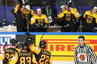 Eishockey: Deutschland besiegt Kanada