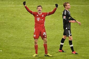 Bayern München nutzt Patzer der Verfolger
