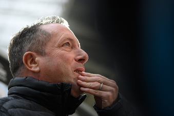 """Bilanz des Dynamo-Trainers: """"Ich freue mich für die Fans"""""""