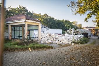 Ehemalige Kaufhalle wird abgerissen