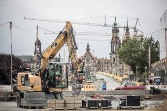 Das sind die sieben größten Sommerbaustellen in Dresden