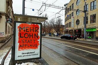 Mehr Corona-Protest in Dresden