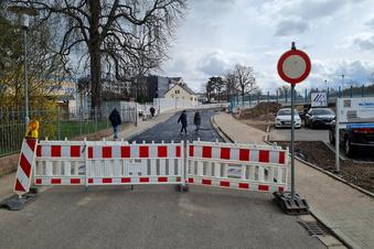Neue Einbahnstraße in Döbeln