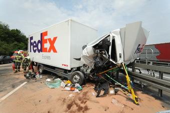 Unfall sorgt für Sperrung der A4