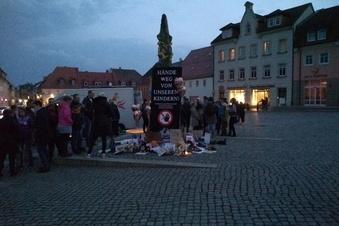 Wilsdruff: Protest gegen Corona-Regeln