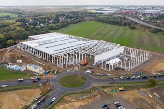 Neue Batteriefabrik entsteht in Leipzig