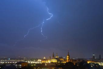 Unwetter mit Starkregen in Sachsen möglich