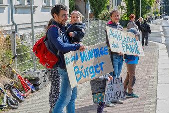 Protest von Zittau bis Oppach