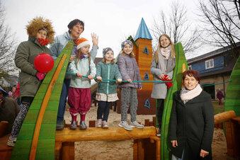 Ein Spielplatz – sogar für Oma und Opa