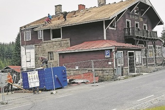 Isergebirge: Das Wittighaus wird abgerissen