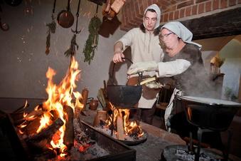 Wenn auf Burg Mildenstein die Schwarzküche raucht
