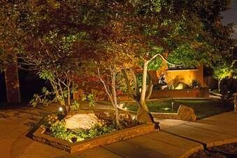 Wie man den Garten zum Strahlen bringt