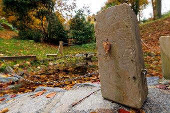 Vandalen zerstören Goethe-Park