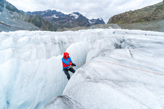 Grenzerfahrungen beim Gletscherwandern